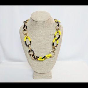 J.Crew Tortoise Shell Necklace